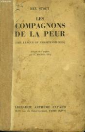 LES COMPAGNONS DE LA PEUR. ( The league of frightened men ). - Couverture - Format classique
