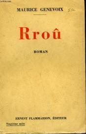 Rrou. - Couverture - Format classique