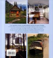 Petites maisons de rêve ; cabane, yourte, caravane, tente, péniche, roulotte... - 4ème de couverture - Format classique