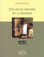 Une Petite Histoire De La Physique No13 - Intérieur - Format classique