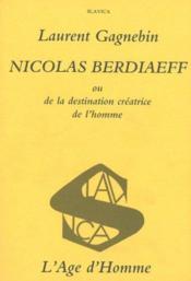 Nicolas Berdaieff - Couverture - Format classique