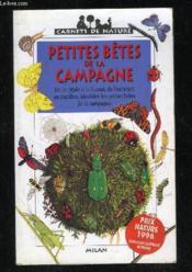 Les petites betes de la campagne - Couverture - Format classique