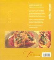 Curry Et Tandoori - 4ème de couverture - Format classique