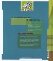 Amin, sans papiers - 4ème de couverture - Format classique