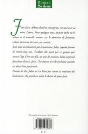 Les galoches de Julia - 4ème de couverture - Format classique