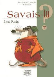 Savais-Tu ? T.7 ; Les Rats - Intérieur - Format classique