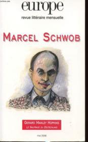 Revue Europe N.925 ; Marcel Schwob - Couverture - Format classique
