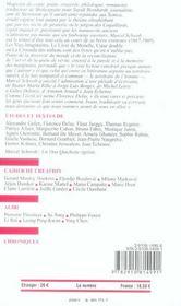 Revue Europe N.925 ; Marcel Schwob - 4ème de couverture - Format classique