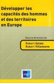 Développer les capacités des hommes et des territoires en Europe - Couverture - Format classique