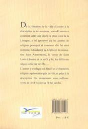 Annales De La Ville D'Issoire - 4ème de couverture - Format classique