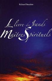 Le livre des grands maîtres spirituels - Intérieur - Format classique