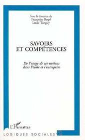 Savoirs Et Competences - Couverture - Format classique