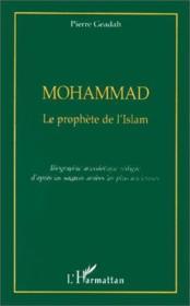Mohammad - Le Prophete De L'Islam - Couverture - Format classique