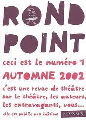 Revue rond point n 1 - Intérieur - Format classique