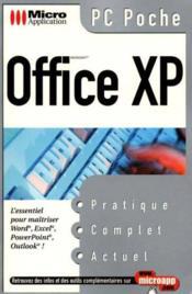 Pc Poche Office Xp - Couverture - Format classique