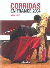 Corridas En France 2004 - Intérieur - Format classique