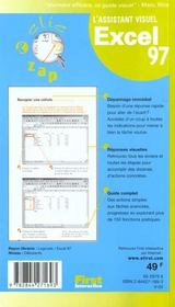 Excel 97 - 4ème de couverture - Format classique