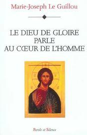 Dieu De Gloire Parle Au Coeur De L'Homme - Intérieur - Format classique