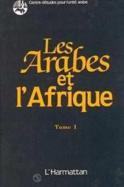 Arabes Et L'Afrique V2 (Seminaire Amman 1983) - Couverture - Format classique