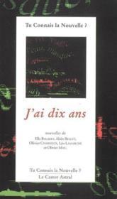 J'Ai Dix Ans - Couverture - Format classique
