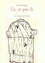 La Et Pas La - Intérieur - Format classique
