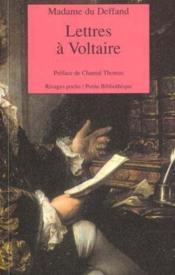 Lettres A Voltaire - Couverture - Format classique