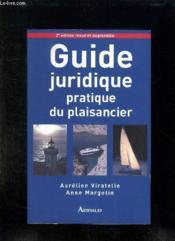Guide juridique pratique du plaisancier - Couverture - Format classique