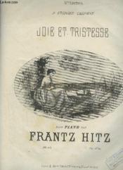 Joie Et Tristesse - Pour Piano. - Couverture - Format classique