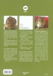 La gerbille - 4ème de couverture - Format classique