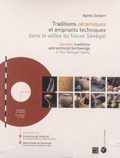 Traditions Ceramiques Et Emprunts Techniques Dans La Vallee Du Fleuve Senegal - Intérieur - Format classique