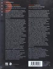 Traditions Ceramiques Et Emprunts Techniques Dans La Vallee Du Fleuve Senegal - 4ème de couverture - Format classique