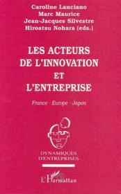 Les acteurs de l'innovation et l'entreprise - Couverture - Format classique