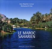 Le Maroc Saharien - Couverture - Format classique