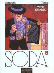 Soda t.8 ; tuez en paix - Intérieur - Format classique