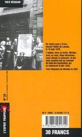 Vive Le Haschisch ! - 4ème de couverture - Format classique