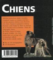 Chiens - 4ème de couverture - Format classique