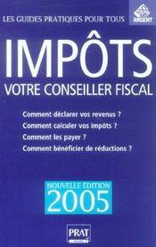 Impôts, votre conseiller fiscal - Intérieur - Format classique