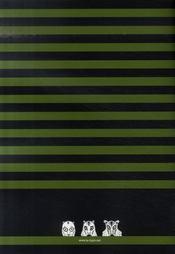Le tigre t.3 (édition juin 2007) - 4ème de couverture - Format classique