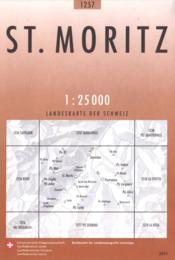 St Moritz - Couverture - Format classique