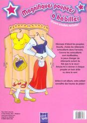 Bleu Poupees A Habiller - 4ème de couverture - Format classique