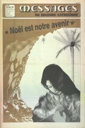 Messages Du Secours Catholiques N°377 du 01/12/1985 - Couverture - Format classique
