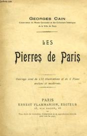 Les Pierres De Paris. - Couverture - Format classique