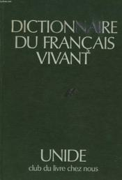 Dictionnaire Du Francais Vivant - Couverture - Format classique