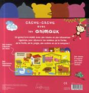 Cache-cache avec les animaux - 4ème de couverture - Format classique