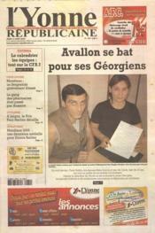 Yonne Republicaine (L') N°186 du 11/08/2005 - Couverture - Format classique