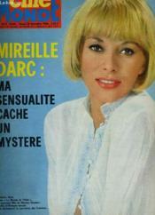 Cinemonde - N° 1672 - Mireille Darc: Ma Sensualite Cache Un Mystere - Couverture - Format classique