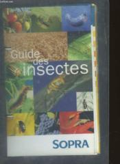 Guide Des Insectes - Couverture - Format classique