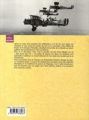 La fabuleuse aventure des débuts de l'aviation - 4ème de couverture - Format classique
