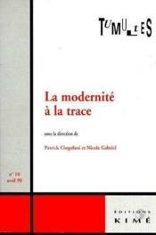 Tumultes N10 Modernite A La Trace - Couverture - Format classique