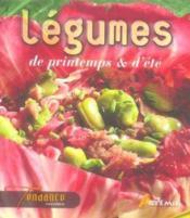 Legumes De Printemps Et D'Ete - Couverture - Format classique